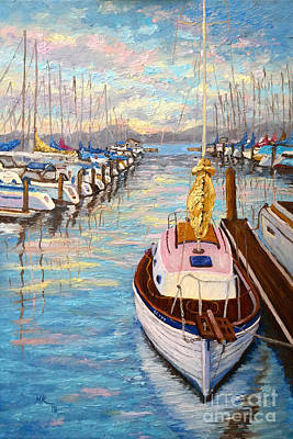 The Beauty Of Sausalito  Poster by Francesca Kee
