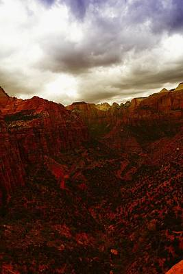The Beauty Of Zion Natinal Park Poster by Jeff Swan
