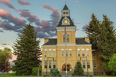 The Beaverhead County Courthouse Poster