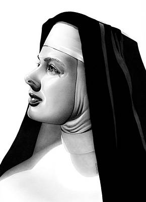 The Bell's Of St. Mary's Sister Mary Benedict Poster by Fred Larucci