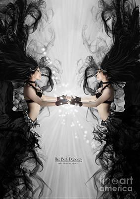 The Bellydancers Poster by Babette Van den Berg