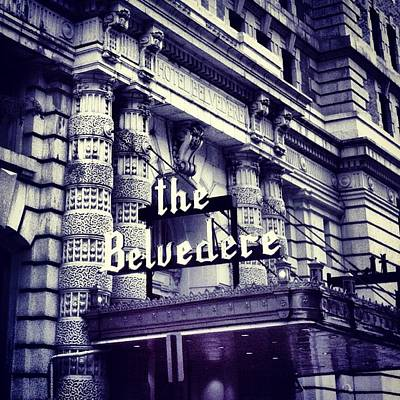 The Belvedere Poster by Toni Martsoukos