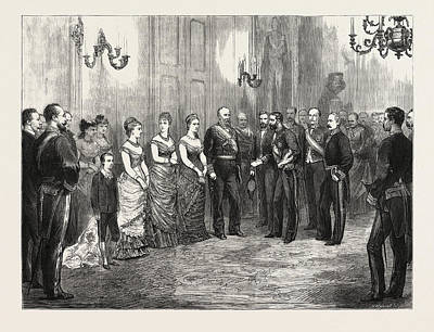The Betrothal Of The King Of Spain The Kings Envoy Formally Poster