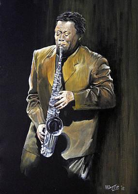The Big Man - Clarence Clemons Poster