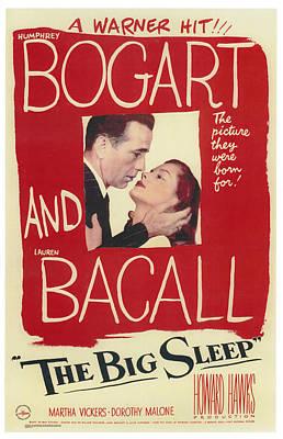 The Big Sleep Poster by Georgia Fowler