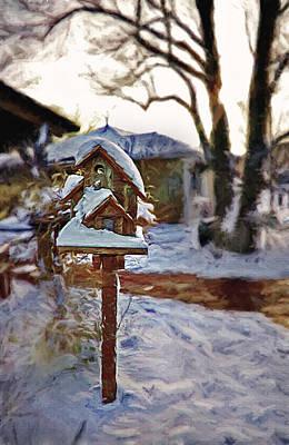 The Birdhouse - Rural Still Life Poster by Steve Ohlsen