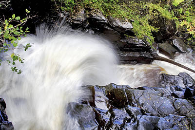 The Birks Waterfall - Aberfeldy Scotland Poster