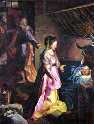 The Birth Of Christ Poster by Celestial Images