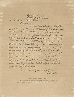 The Bixby Letter Poster by Celestial Images