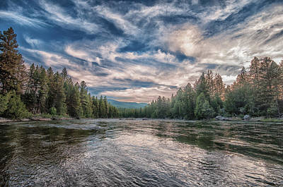 The Blackfoot River Poster by Stephen Beaumont
