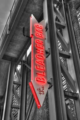 The Bleacher Bar Poster by Joann Vitali