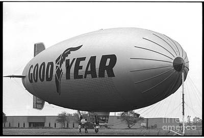 The Goodyear Blimp In 1979 Poster