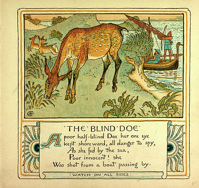 The Blind Doe Poster by English School