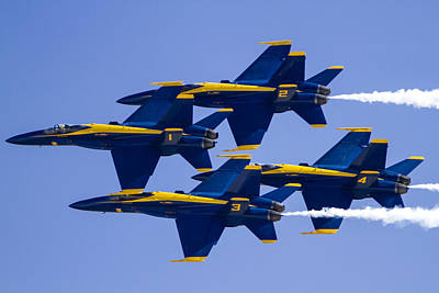 The Blue Angels In Action 1 Poster