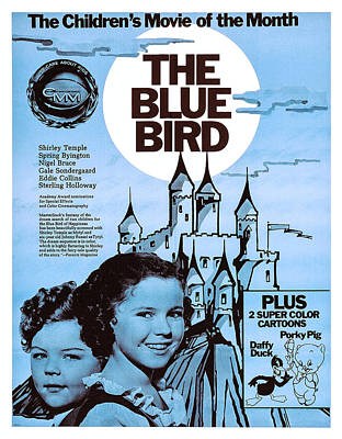 The Blue Bird, Us Poster, Bottom Left Poster by Everett