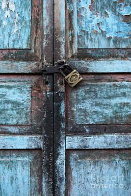 The Blue Door 2 Poster by James Brunker