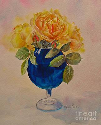 The Blue Vase Poster