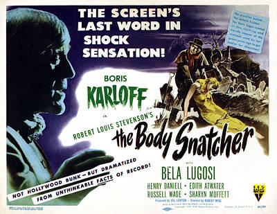 The Body Snatcher, Left And Top Right Poster
