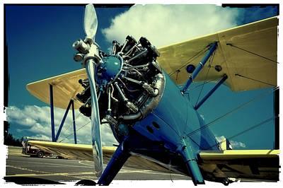 The Boeing Stearman Biplane Poster