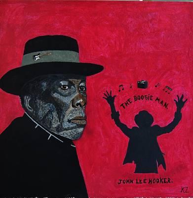 The Boogie Man.john Lee Hooker. Poster