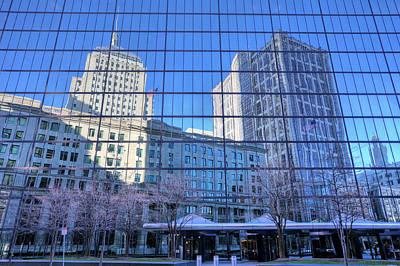 The Boston Skyline Poster