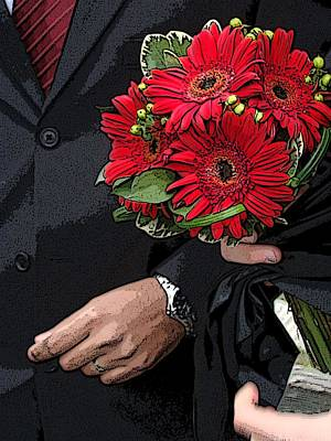Poster featuring the photograph The Bouquet by Zinvolle Art
