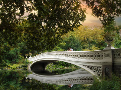 The Bow Bridge Poster by Jessica Jenney
