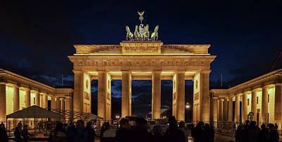 The Brandenburg Gate Poster by Babak Tafreshi