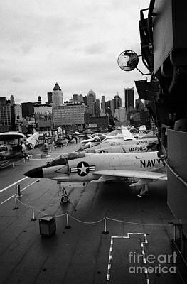 the bridge of the USS Intrepid at the Intrepid Sea Air Space Museum new york city Poster by Joe Fox