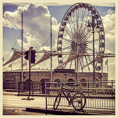 Poster featuring the photograph The Brighton Wheel by Chris Lord