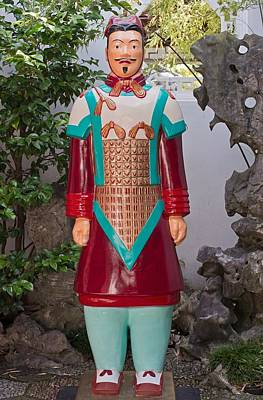 The Brilliant Terracotta Warrior Poster by David Oberman