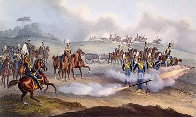 The British Royal Horse Artillery - Poster