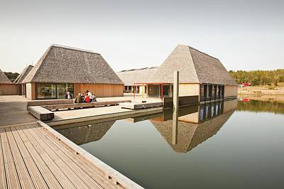 The Brockholes Visitor Centre Poster by Ashley Cooper