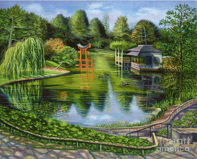 The Brooklyn Botanic Garden Poster