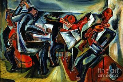 The Budapest String Quartet Poster by Pg Reproductions