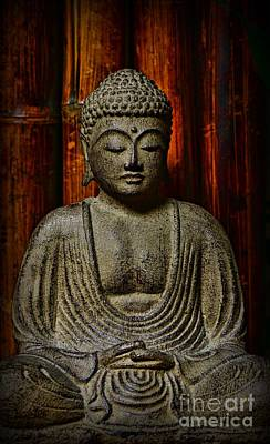 The Buddha Poster by Paul Ward