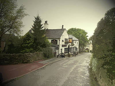 The Bulls Head Public House In, Characterful Pub Which Poster by Litz Collection
