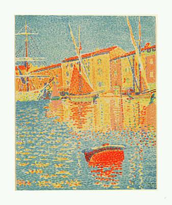 The Buoy La Bouee, 1894 Poster