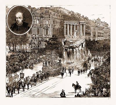 The Calderon Bicentenary At Madrid, Spain Poster
