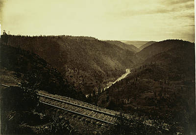 The Cañon Of The American River, C.p.r.r. Carleton Watkins Poster