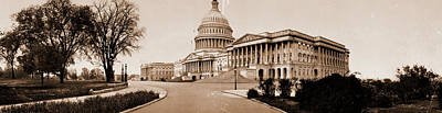 The Capitol, Washington, D.c, Jackson, William Henry Poster by Litz Collection