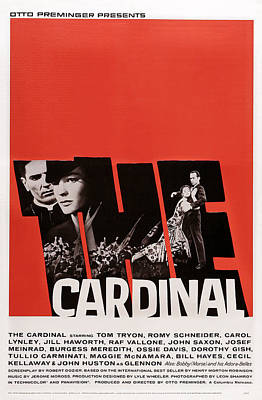 The Cardinal, Us Poster Art, Left Tom Poster by Everett