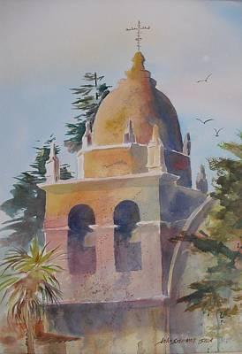 The Carmel Mission Poster by John  Svenson