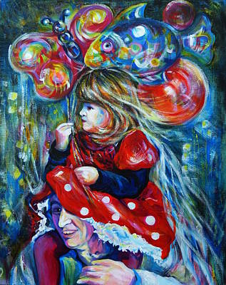 The Carnival Little Princess Poster