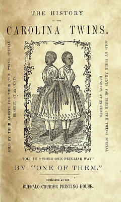 The Carolina Twins, C1869 Poster by Granger