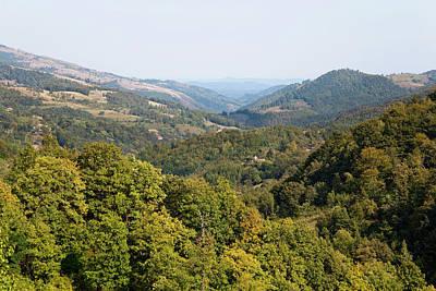 The Carpathian Mountains West Of Baia Poster