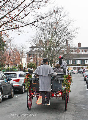 Poster featuring the photograph The Carriage Ride by Ann Murphy