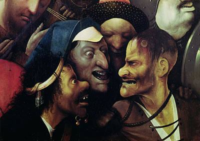 The Carrying Of The Cross, Oil On Panel Detail See Also 28966, 61299 And 61229 Poster
