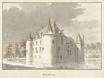 The Castle Amelroy Or Ammerzoden, Gelderland The Netherlands Poster