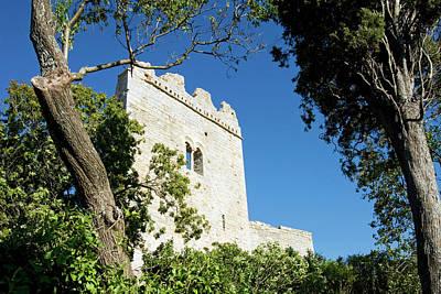 The Castle, Campiglia Marittima Poster by Nico Tondini